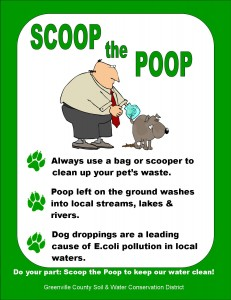 Scoop the Poop sign