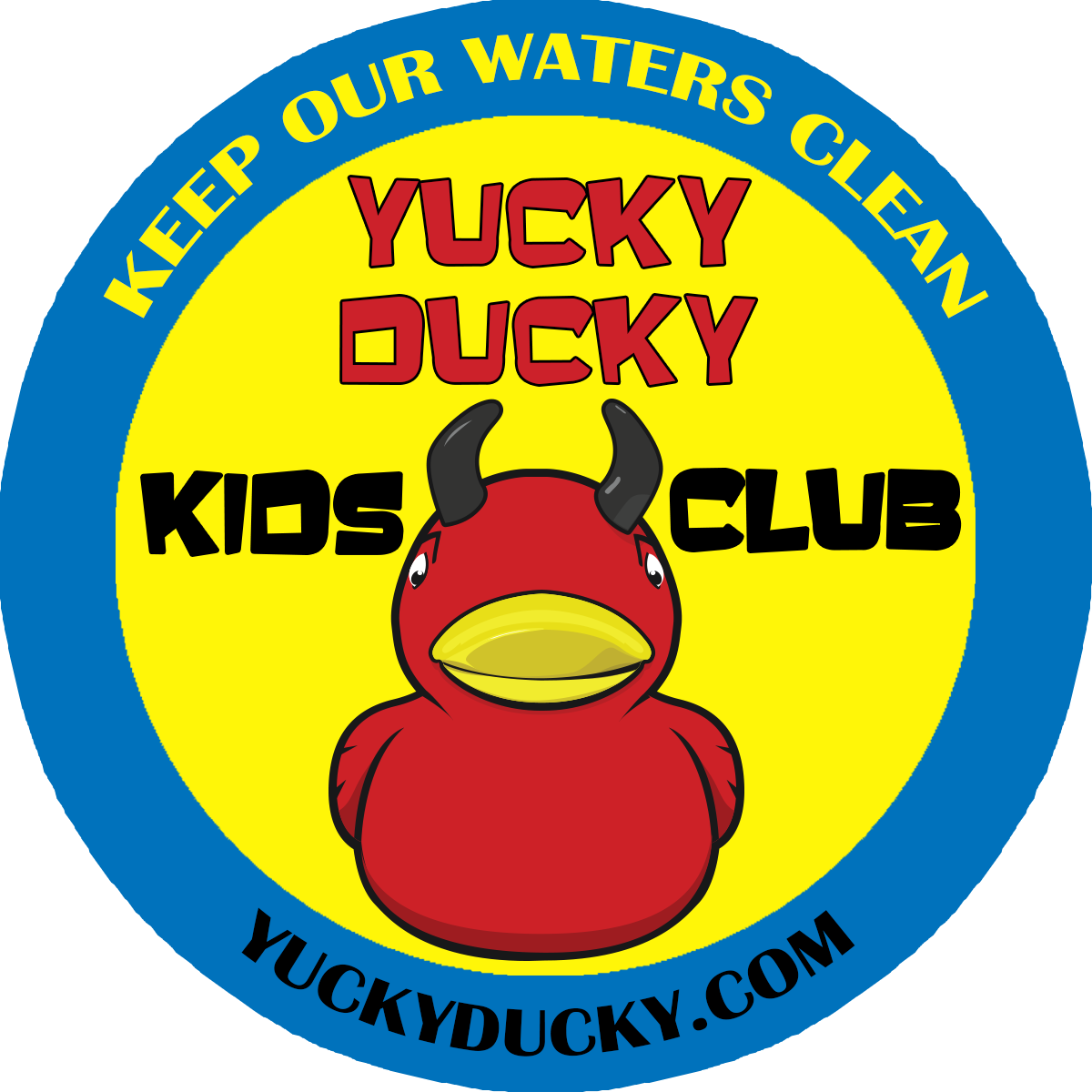 yucky ducky kids club logo