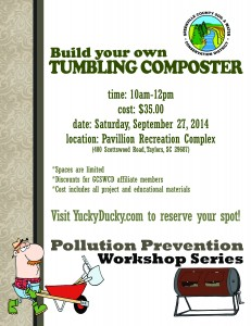 We've Added Another Tumbling Composter Workshop!