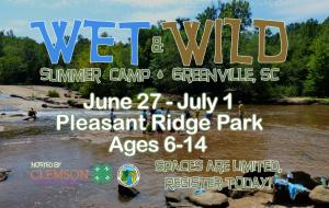 Wet & Wild Camp 2016 Registration Open!