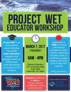 Project WET Educator Workshop